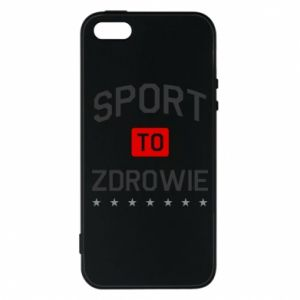 iPhone 5/5S/SE Case Sport is health