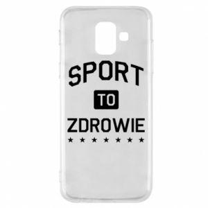 Samsung A6 2018 Case Sport is health