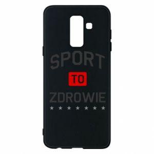 Samsung A6+ 2018 Case Sport is health