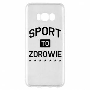 Samsung S8 Case Sport is health