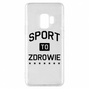 Samsung S9 Case Sport is health