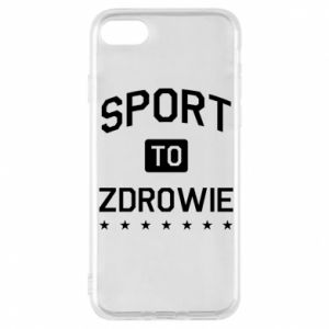 iPhone 8 Case Sport is health