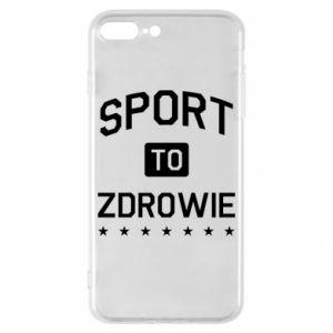 iPhone 8 Plus Case Sport is health
