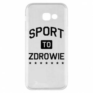 Samsung A5 2017 Case Sport is health