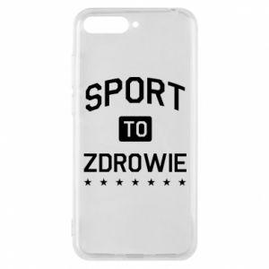 Huawei Y6 2018 Case Sport is health