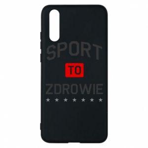 Huawei P20 Case Sport is health