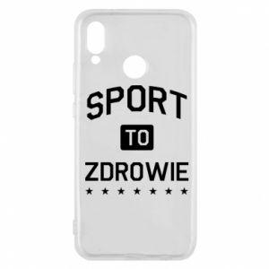 Huawei P20 Lite Case Sport is health