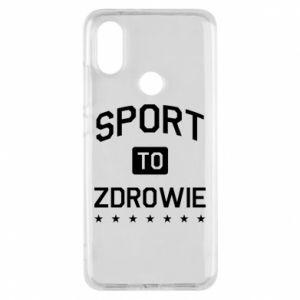 Xiaomi Mi A2 Case Sport is health