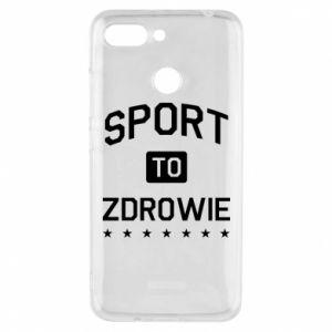 Xiaomi Redmi 6 Case Sport is health