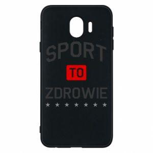 Samsung J4 Case Sport is health