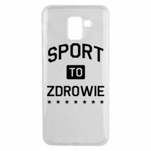 Samsung J6 Case Sport is health