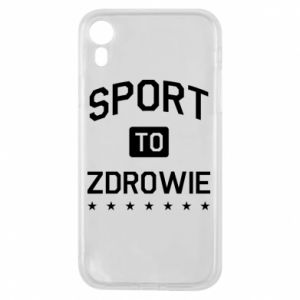 iPhone XR Case Sport is health