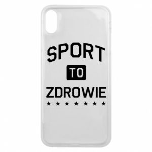 iPhone Xs Max Case Sport is health