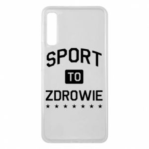 Samsung A7 2018 Case Sport is health