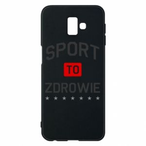 Samsung J6 Plus 2018 Case Sport is health