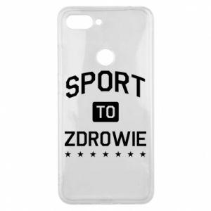 Xiaomi Mi8 Lite Case Sport is health