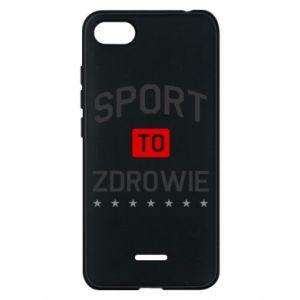 Xiaomi Redmi 6A Case Sport is health
