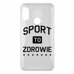 Mi A2 Lite Case Sport is health