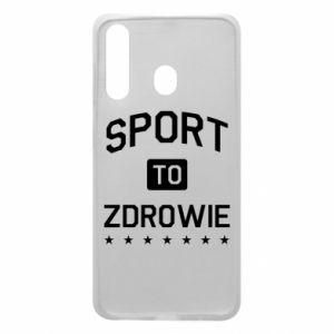 Samsung A60 Case Sport is health