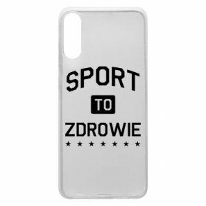 Samsung A70 Case Sport is health