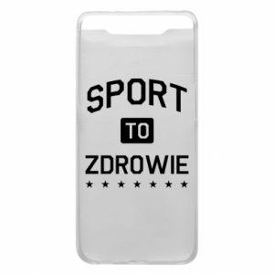 Samsung A80 Case Sport is health