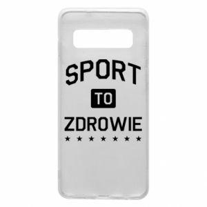 Samsung S10 Case Sport is health
