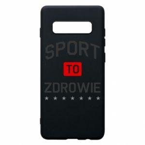 Samsung S10+ Case Sport is health