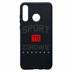 Huawei P30 Lite Case Sport is health