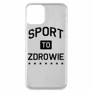 iPhone 11 Case Sport is health