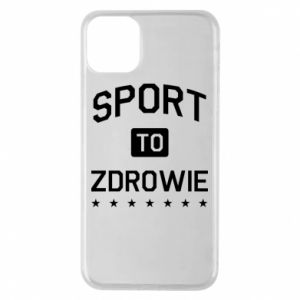 iPhone 11 Pro Max Case Sport is health