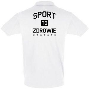 Men's Polo shirt Sport is health