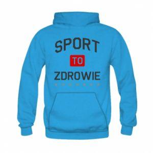 Kid's hoodie Sport is health