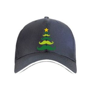 Cap Mustache Christmas Tree