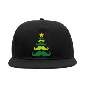 Snapback Mustache Christmas Tree