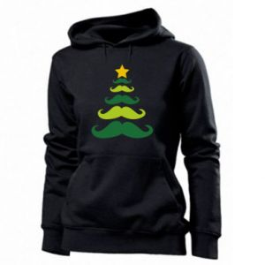 Bluza damska Mustache Christmas Tree