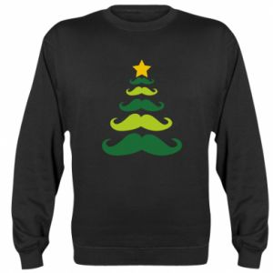Bluza Mustache Christmas Tree