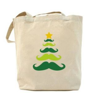 Torba Mustache Christmas Tree