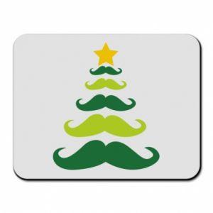 Podkładka pod mysz Mustache Christmas Tree