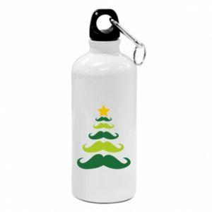 Bidon turystyczny Mustache Christmas Tree