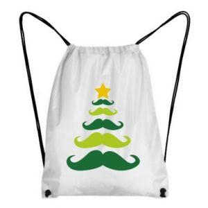 Plecak-worek Mustache Christmas Tree