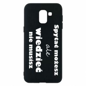 Etui na Samsung J6 Spytać możesz...