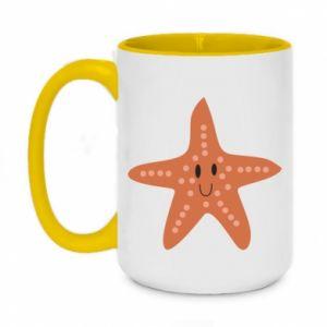 Kubek dwukolorowy 450ml Starfish