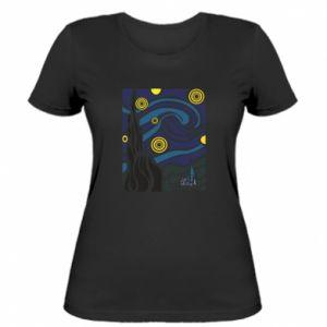 Women's t-shirt Starlight Night - PrintSalon