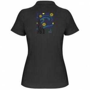 Women's Polo shirt Starlight Night - PrintSalon