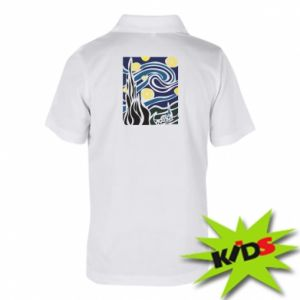 Children's Polo shirts Starlight Night - PrintSalon
