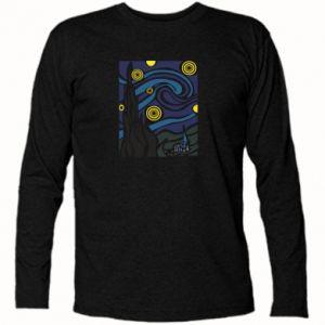 Long Sleeve T-shirt Starlight Night - PrintSalon