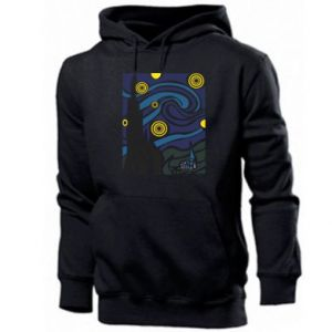 Men's hoodie Starlight Night - PrintSalon