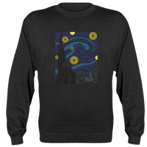 Sweatshirt Starlight Night - PrintSalon