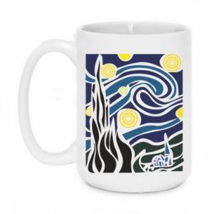 Mug 450ml Starlight Night - PrintSalon