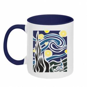 Two-toned mug Starlight Night - PrintSalon